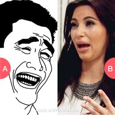Have a weird laugh face or weird cry face? Click here to vote @ http://getwishboneapp.com/share/8971229