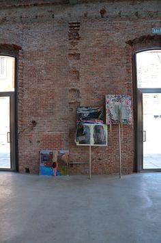 """Oscar Murillo. Exposición """"De marcha ¿una rumba? No, sólo un desfile con ética y estética"""" Centro Cultural Daoiz y Velarde. Madrid. #ArcoColombia #Arco2015 #ArteContemporáneo #Arterecord 2015 https://twitter.com/arterecord"""