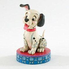 jim shore one hundred an one dalmations | JIM SHORE DISNEY LUCKY 101 DALMATIONS FIGURINE