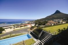 Panoramic views of the Atlantic from The Crystal luxury serviced apartments in Cape Town.  http://www.south-african-hotels.com/hotels/the-crystal-apartments-camps-bay/