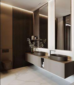 The Insider Secrets of Lovely Contemporary Bathroom Designs Discovered design lighting tiles bathroom decor bathroom bathroom bathroom decor bathroom ideas bathroom Dream Bathrooms, Amazing Bathrooms, Small Bathroom, Master Bathroom, Budget Bathroom, Bathroom Ideas, Bathroom Bath, Taupe Bathroom, Bathroom Colours