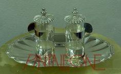Ampolle in metallo argento 194/2FRD