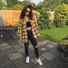 Casual Fall Outfits for Teens: Baddie Style Source by outfits. - Casual Fall Outfits for Teens: Baddie Style Source by outfits for teens - Tumblr Outfits, Mode Outfits, Outfits For Concerts, Cute Concert Outfits, Club Outfits, Casual Fall Outfits, Trendy Outfits, 90s Style Outfits, Flannel Outfits Summer