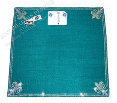 JCD-Just Charmin Designs- TEAL WOOL Crystal Bling Horse Show Saddle Blanket Pad 4-Western Shirt Rodeo Showmanship Barrel Racing on Etsy, $274.95