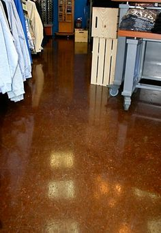 Epoxy Concrete Coatings Offer A Pleasing Upgrade To Your Retail E Plus This Coating Is Easy Clean And Will Last For Years Come