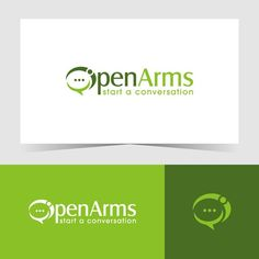 Open Arms �20Open Arms Non Profit needs a organic powerful logo