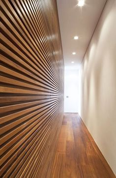 Ultra-Interior American Walnut Flooring and Wall Panelling Types Of Food, Own Home, Blinds, Minimalism, Interior Design, Architecture, House, Home Decor, Wall Panelling