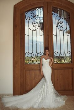 The Galia Lahav Zoe wedding gown! So beautiful and I love that hair too http://galialahav.com/en