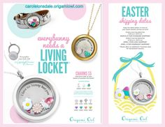 Order your Easter items today! www.carolelonsdale.origamiowl.com