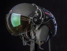 BAE Systems just unveiled its latest combat pilot's Striker II HMD helmet, with Superior Tracking and Night Vision. Images © BAE Systems The BAE Systems Striker… Cyberpunk, Music Gadgets, Mechanical Art, Future Soldier, Fighter Pilot, Aircraft Design, Air Show, Tactical Gear, Design Reference