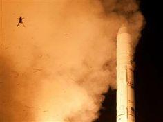 Frog pops up in NASA photo of LADEE rocket launch: Did it croak? (Photo: NASA / WFF / MARS)