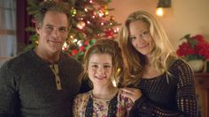 """The Christmas Shepherd - """"A successful children's book author & Army widow loses her late husband's German Shepherd, Buddy, only to later find him adopted by a new family - a single father & his daughter. Each finds a sense of Christmas spirit as they struggle to decide with whom the dog really belongs."""" (c) 2014 Hallmark Channel Movie."""