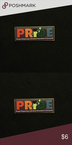 Disney Pride Pin Perfect for a collection! Comes with Mickey backing. Disney Accessories