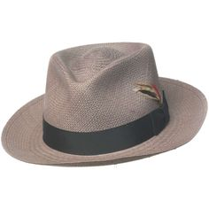 0332f04a7ab55 Capas Bogart Panama Straw Fedora Hat Straw Fedora
