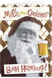 #Beer #Santa #Christmas