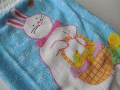 Plastic Bag Holder  Rabbit  Bunny  Easter  by ShelleysCrochetOle