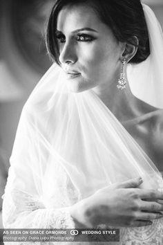 bridal boudoir shoot veil lingerie nude bare skin photos diana lupu