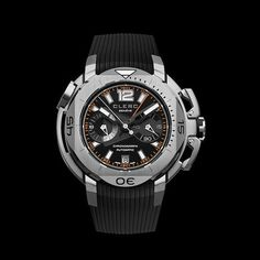 Clerc Hydroscaph Chronograph Automatic // Limited Edition // CHY-117 // Store Display
