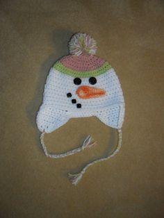 Every little girl needs a snowman hat