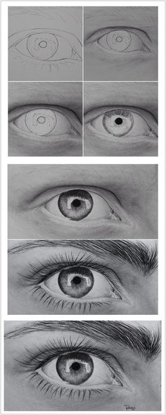 The Secrets Of Drawing Realistic Pencil Portraits - Eye Secrets Of Drawing Realistic Pencil Portraits - Discover The Secrets Of Drawing Realistic Pencil Portraits Pencil Art Drawings, Cool Art Drawings, Art Drawings Sketches, Animal Drawings, Eye Drawings, Drawing Animals, Eye Pencil Drawing, Hipster Drawings, Pencil Sketching