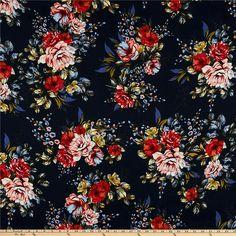 b384f05b92 Crepe Fabric, Lycra Spandex, Flowy Dresses, Floral Prints, Surface, Blouses,