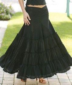 I love gypsy skirts!