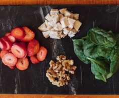 Spinach Salad with Strawberries and Walnuts Ingredients