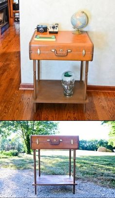 Hand made Suitcase Furniture