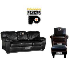 Philadelphia Flyers Leather Furniture Set