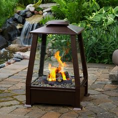 Sierra Copper Outdoor Gel Fuel Fireplace http://www.mantelsdirect.com/Products-Accessories/outdoor-gel-fuel-fireplaces/Real-Flame-Sierra-Copper-Outdoor-Gel-Fuel-Fireplace #backyard #patio #products
