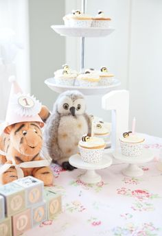 The Twins' First Birthday Party: Classic Winnie the Pooh Theme