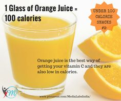 What can be more refreshing than a glass of orange juice?