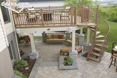 Cheap Patio Apartment patio on a budget diy.Farmhouse Patio With Fireplace patio roof gazebo.Patio Chairs With Ottoman. Patio Deck Designs, Patio Design, Backyard Playground, Backyard Patio, Backyard Layout, Pergola Garden, Patio Roof, Pavillion, Deck Pictures