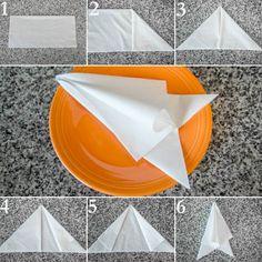 Bildergebnis für pliage de serviettes