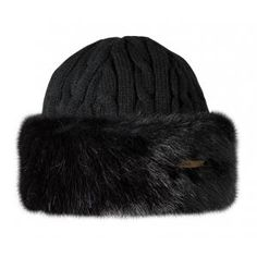 Barts Fur Cable Bandhat - £32.99 www.countryhouseoutdoor.co.uk