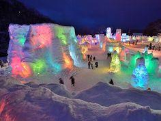 Sapporo Ice Festival, Japan