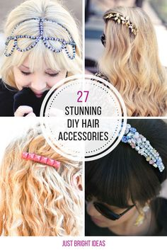 These DIY hair accessories are so easy to make! Thanks for sharing!