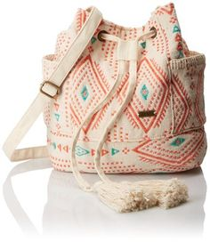 Roxy Magical Riad Satchel Handbag Saddle Cross Body, Geo Carpet Combo Sand Piper, One Size Pink Handbags, Satchel Handbags, My Bags, Purses And Bags, Shoulder Handbags, Shoulder Bags, Shoulder Strap, Riad, Summer Bags