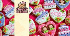 Chapix Cookies by Myri : Galletas decoradas hechas con amor / Decorated cookies made with love