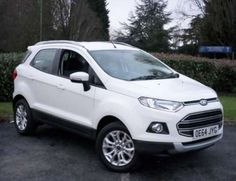Used 2014 (64 reg) White Ford Ecosport 1.5 TDCi Titanium 5dr for sale on RAC Cars