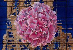 """ღღ  Saatchi Online Artist: Gregory Van Raalte; Watercolor, Painting """"Hydrangea"""""""