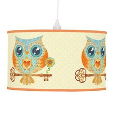 Owl's Summer Love Letters Lamp ENJOY 50% OFF ALL LAMPS! TODAY ONLY! http://www.zazzle.com/sandygrafik/lamps?q=lamps USE CODE: HOLIDAYLAMPS