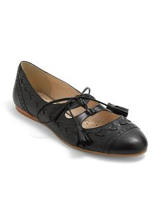 My Aerosole Mary Jane shoes are getting worn out. Hmmmmm - howzabout this variation on a Mary Jane by Brooks Brothers?