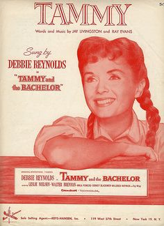 Debbie Reynolds, this was the first film I ever went to the cinema to watch on my own on December I loved it and fell in love with Tammy.