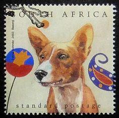 Basenji dog Handmade Postage Stamp Art 0723 by PassionGiftStampArt Basenji Dogs, Postage Stamp Art, Yorkshire Terrier Puppies, Vintage Dog, Pembroke Welsh Corgi, Stamp Collecting, Dog Art, Dog Life, Pet Birds