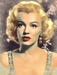 Marilyn Monroe, artist unknown