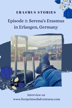 Can introverts enjoy their Erasmus experience? Of course! In this episode of Erasmus Stories, we move to Germany to discover Erlangen with Serena. Beautiful parks, Christmas markets, cosy spots to read, and an amazing variety of krapfens! Seriously, after hearing all the possible flavours of krapfens  available in Germany, I can't wait to visit again! Moving To Germany, Beautiful Park, Episode 3, Introvert, Persona, Christmas Markets, Marketing, Reading, Blog