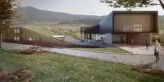 Archvision Studio - Project - Balneary Centre in Persani Village, Brasov - Natural Baths, Green Landscape, Creative Studio, Outdoor Furniture, Outdoor Decor, Romania, Centre, Home And Family, Contemporary
