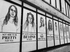 Stop Telling Women To Smile 15 public art projects that boldly advocate for social justice Social Issues, Activist Art, Protest Art, Social Art, Social Practice, Political Art, Middle School Art, Art School, Urban Art