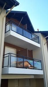 Image associée Balcony Railing Design, Glass Railing, Glass Balcony, Terrazzo, Gate, Villa, Loft, Home Decor, Verandas
